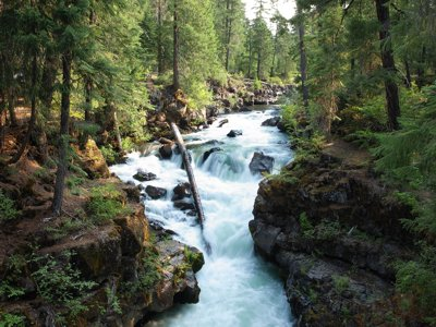 Rogue River Gorge 1